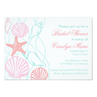 Watercolor Ocean Invitation