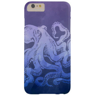 Watercolor Octopus Barely There iPhone 6 Plus Case