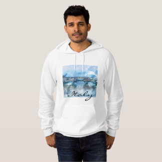 Watercolor of Florence Italy Hoodie