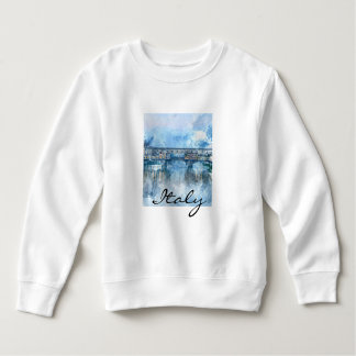 Watercolor of Florence Italy Sweatshirt