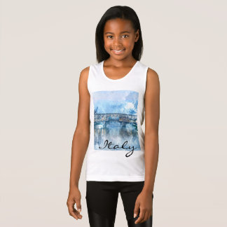 Watercolor of Florence Italy Tank Top