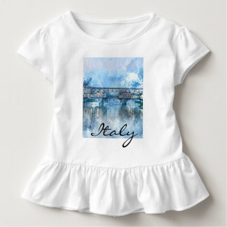 Watercolor of Florence Italy Toddler T-shirt