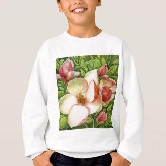 Watercolor of Magnolia Flower Sweatshirt