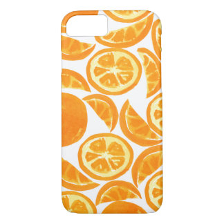 Watercolor Orange Slices - Watercolor Fruit iPhone 8/7 Case