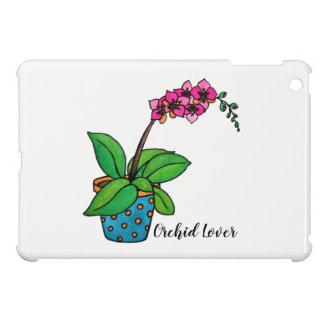 Watercolor Orchid Plant In Beautiful Pot iPad Mini Case