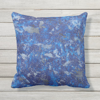 Watercolor Outdoor Pillow