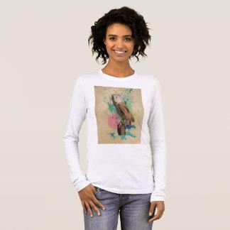 Watercolor Owl T shirt
