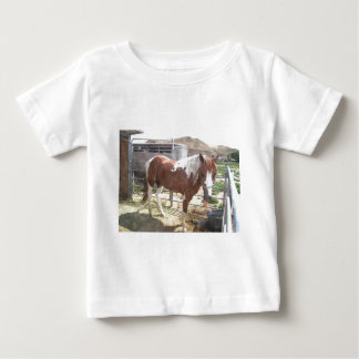 Watercolor Paint Horse Baby T-Shirt