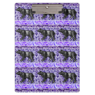 Watercolor Paint Repeat Animal Pattern Animals Clipboard