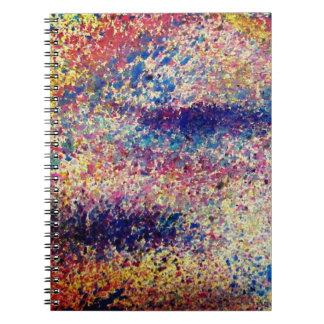 Watercolor Paint Splatter Notebook