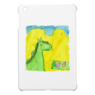 Watercolor Painting Dragon's Breakfast Case For The iPad Mini