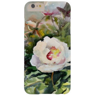 Watercolor Painting Of The Beautiful Flowers Barely There iPhone 6 Plus Case
