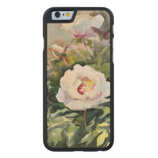 Watercolor Painting Of The Beautiful Flowers Carved® Maple iPhone 6 Slim Case