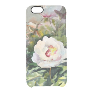 Watercolor Painting Of The Beautiful Flowers Clear iPhone 6/6S Case