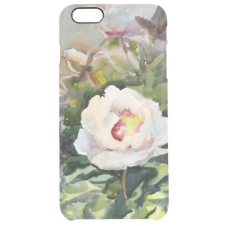 Watercolor Painting Of The Beautiful Flowers Clear iPhone 6 Plus Case