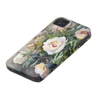 Watercolor Painting Of The Beautiful Flowers iPhone 4 Case