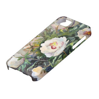 Watercolor Painting Of The Beautiful Flowers iPhone 5 Case