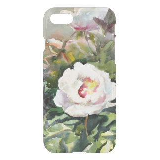 Watercolor Painting Of The Beautiful Flowers iPhone 7 Case