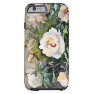 Watercolor Painting Of The Beautiful Flowers Tough iPhone 6 Case