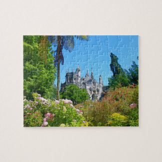Watercolor palace jigsaw puzzle