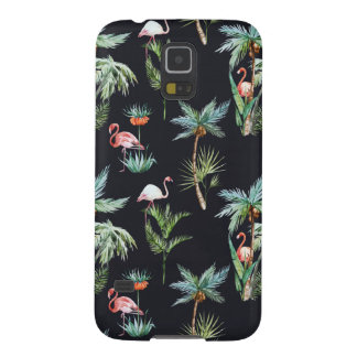 Watercolor Palm Pattern Cases For Galaxy S5