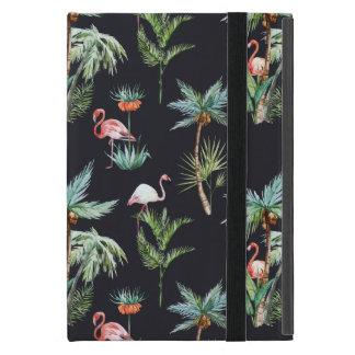 Watercolor Palm Pattern iPad Mini Covers
