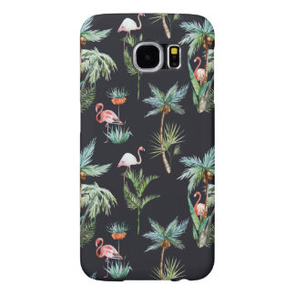 Watercolor Palm Pattern Samsung Galaxy S6 Cases