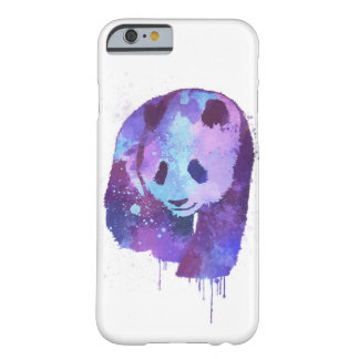 Watercolor Panda Bear Barely There iPhone 6 Case