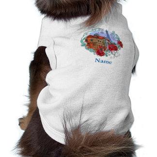 Watercolor Paris Pet Shirt