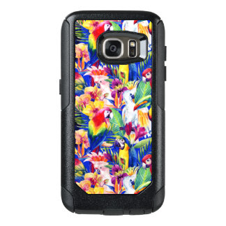 Watercolor Parrots OtterBox Samsung Galaxy S7 Case
