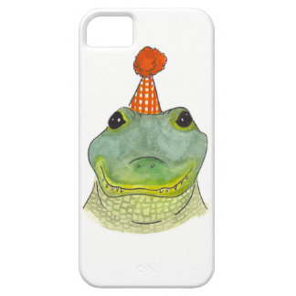 Watercolor Party Gator Phone Case