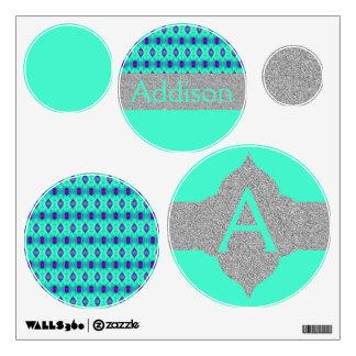 Watercolor Pattern IIII Wall Sticker