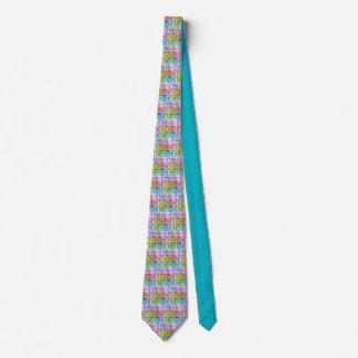 Watercolor Peace Tie
