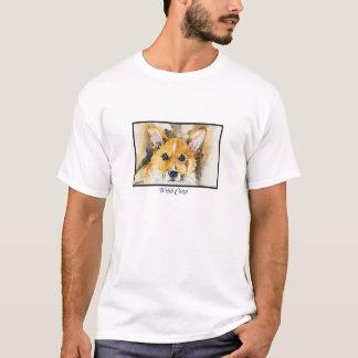 Watercolor Pembroke Welsh Corgi T-shirt