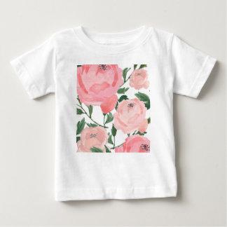 Watercolor Peonies 1 Baby T-Shirt