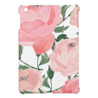 Watercolor Peonies 1 iPad Mini Covers