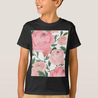 Watercolor Peonies 1 T-Shirt