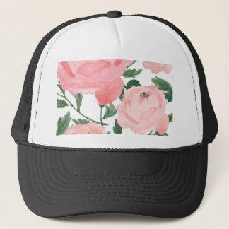 Watercolor Peonies 1 Trucker Hat