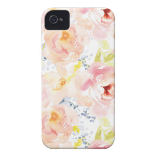 Watercolor Peony Pink Watercolor Flower iPhone 4 Covers
