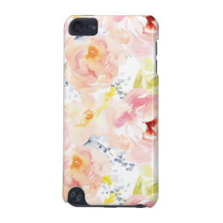 Watercolor Peony Pink Watercolor Flower iPod Touch 5G Cases