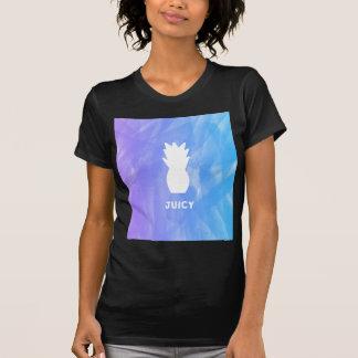 Watercolor pineapple - purple/blue T-Shirt