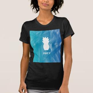 Watercolor Pineapple - teal T-Shirt
