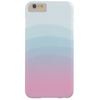 Watercolor Pink Blue iPhone 6/6s Plus Case