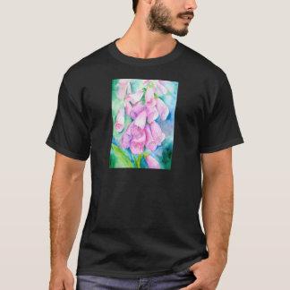 Watercolor pink foxgloves T-Shirt