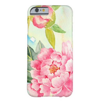 Watercolor Pink Peony Iphone Case