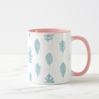 Watercolor Plant Pastel Plant Design Mug