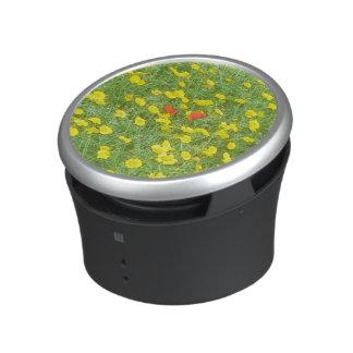 Watercolor poppies speaker
