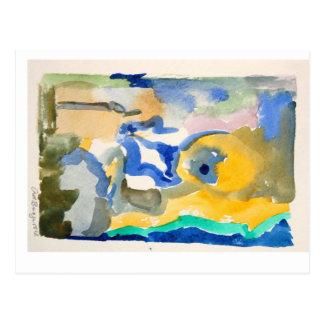 watercolor postcards show nr 6