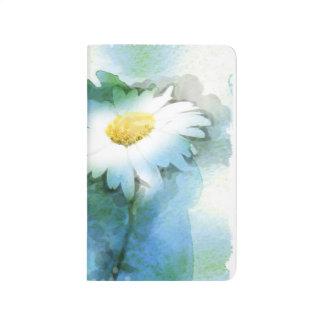 Watercolor Pretty Daisy - Customize Journals