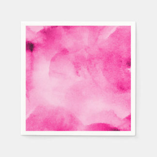 Watercolor Pretty Pinks3 - All Options Paper Napkins